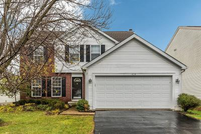 Blacklick Single Family Home Contingent Finance And Inspect: 424 Bauhaus Street