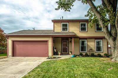 Westerville Single Family Home Contingent Finance And Inspect: 269 Baker Lake Drive