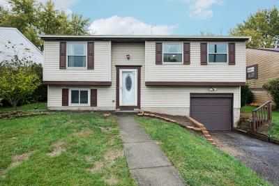 Reynoldsburg Single Family Home Contingent Finance And Inspect: 2988 Arrowsmith Drive