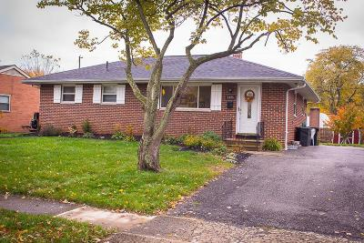 Hilliard Single Family Home Contingent Finance And Inspect: 4805 Hillcrest Street N