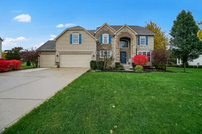 Pickerington Single Family Home Contingent Finance And Inspect: 13564 Mottlestone Drive NW