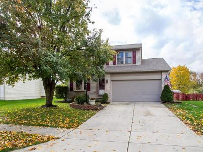 Hilliard Single Family Home Contingent Finance And Inspect: 3655 Stonecross Lane