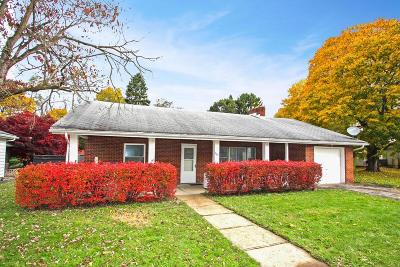 Mount Vernon OH Single Family Home For Sale: $89,500