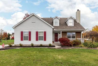 Pickerington Single Family Home Contingent Finance And Inspect: 12842 Pacer Drive
