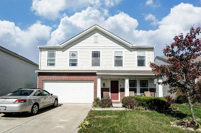 Canal Winchester Single Family Home Contingent Finance And Inspect: 7562 Witch Hazel Drive