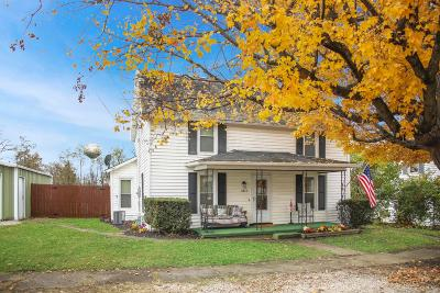 Millersport Single Family Home Contingent Finance And Inspect: 11873 Broad Street