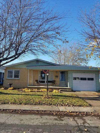 Washington Court House OH Single Family Home Contingent Finance And Inspect: $85,000