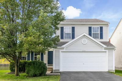 Hilliard Single Family Home Contingent Finance And Inspect: 2203 Yagger Bay Drive