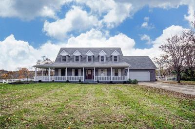 Franklin County, Delaware County, Fairfield County, Hocking County, Licking County, Madison County, Morrow County, Perry County, Pickaway County, Union County Single Family Home For Sale: 4802 Hopewell Church Road SW