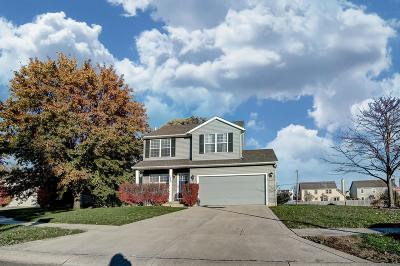 Hilliard Single Family Home Contingent Finance And Inspect: 2968 Brookmont Court