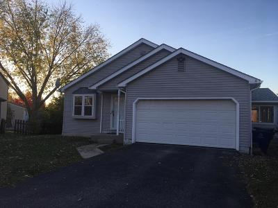 Canal Winchester Single Family Home Contingent Finance And Inspect: 3425 Furrow Court