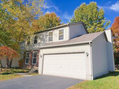 Reynoldsburg Single Family Home Contingent Finance And Inspect: 726 Tricolor Drive