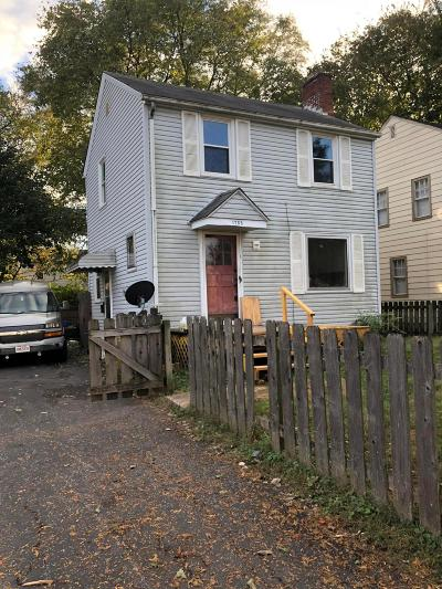 Columbus Single Family Home For Sale: 1755 Forest Street