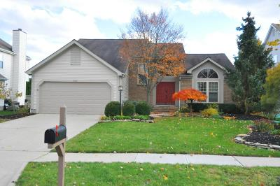 Hilliard Single Family Home Contingent Finance And Inspect: 3362 Darby Glen Boulevard