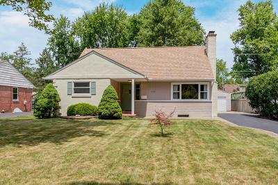 Upper Arlington Single Family Home Contingent Finance And Inspect: 1948 Zollinger Road