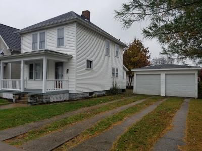 Chillicothe OH Single Family Home For Sale: $84,900