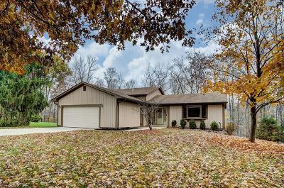 Pickerington Single Family Home Contingent Finance And Inspect: 11460 Windridge Drive NW