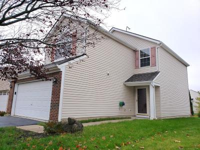 Hilliard Single Family Home Contingent Finance And Inspect: 5763 Coldcreek Drive