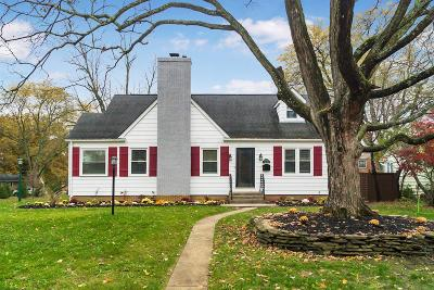 Franklin County, Delaware County, Fairfield County, Hocking County, Licking County, Madison County, Morrow County, Perry County, Pickaway County, Union County Single Family Home For Sale: 1963 Inchcliff Road