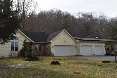 Pike County Single Family Home For Sale: 2219 Morgan Fork