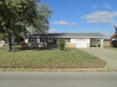 Washington Court House OH Single Family Home Contingent Finance And Inspect: $109,900
