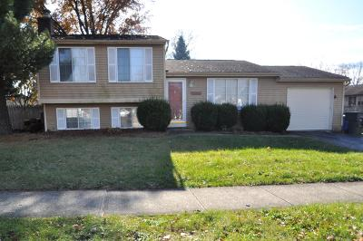 Reynoldsburg Single Family Home Contingent Finance And Inspect: 6609 Bennell Drive