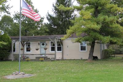 Union County Single Family Home For Sale: 10680 Maple Dell Road