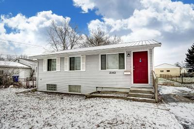 Columbus OH Single Family Home For Sale: $74,900