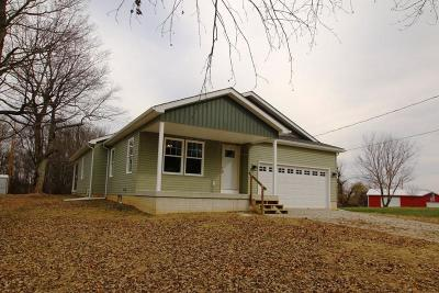 Centerburg Single Family Home Contingent Finance And Inspect: 1153 State Route 314