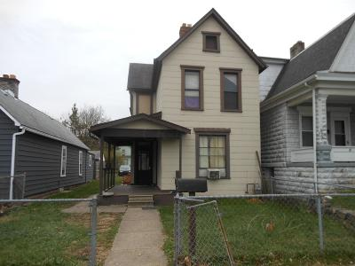 Columbus OH Single Family Home For Sale: $40,000
