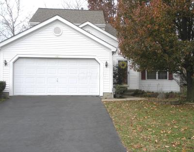 Blacklick Single Family Home Contingent Finance And Inspect: 469 Marcum Road