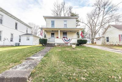 Centerburg Single Family Home For Sale: 169 W Main Street