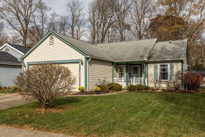 Gahanna Single Family Home Sold: 5120 Wagon Wheel Lane