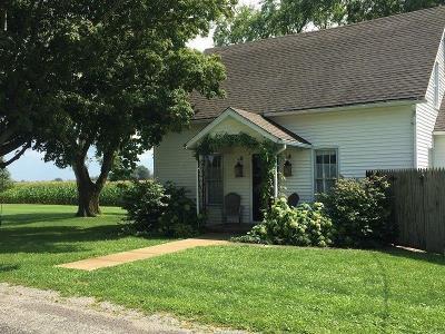 Washington Court House Single Family Home For Sale: 4893 Burnett Perrilll Road