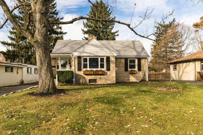 Upper Arlington Single Family Home For Sale: 3227 Ainwick Road