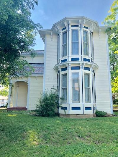 Thornville Single Family Home For Sale: 96 S Church Street