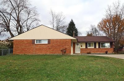 Reynoldsburg Single Family Home For Sale: 1662 Kaiser Drive
