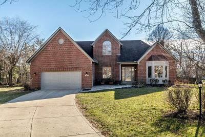 Pickerington Single Family Home Contingent Finance And Inspect: 8872 Golden Leaf Court NW