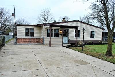 Grove City Single Family Home For Sale: 3843 Homecomer Drive