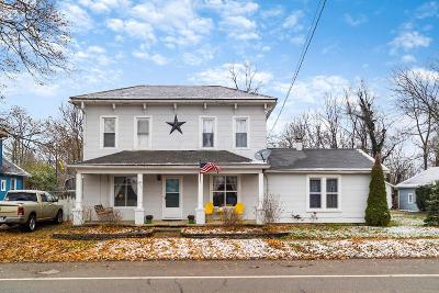 Kirkersville Single Family Home Contingent Finance And Inspect: 250 E Main Street
