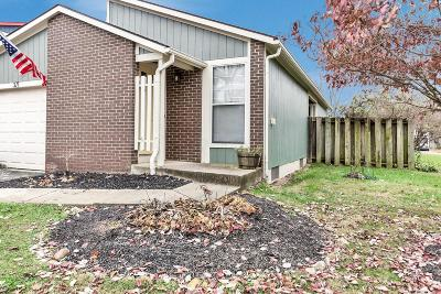 Gahanna Single Family Home Sold: 371 Halsbury Circle
