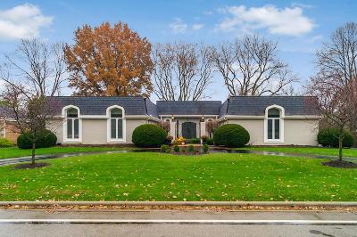 Columbus Single Family Home For Sale: 1387 Clubview Boulevard N