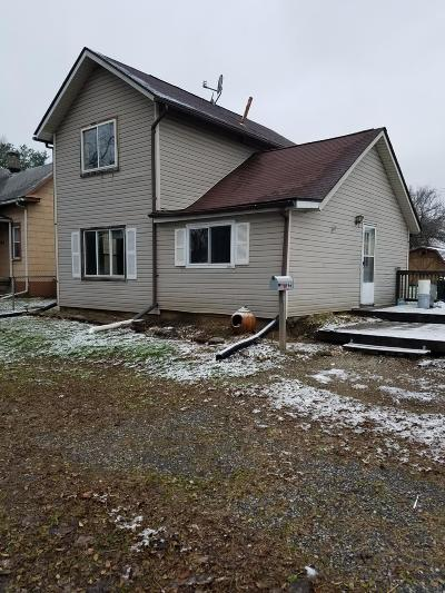 Newark OH Single Family Home For Sale: $60,000