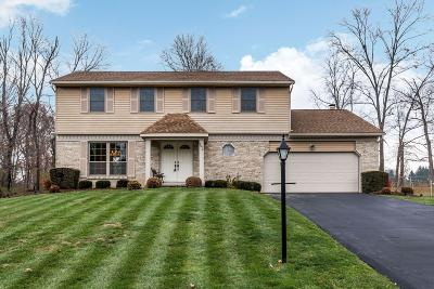 Pickerington Single Family Home Contingent Finance And Inspect: 9972 Oxford Drive