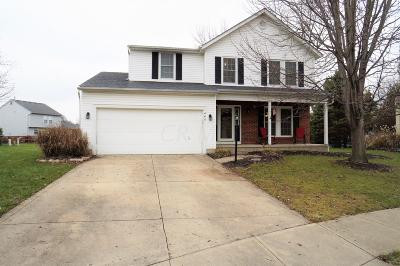 Pickerington Single Family Home Contingent Finance And Inspect: 440 Big Bark Court