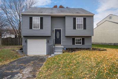Reynoldsburg Single Family Home Contingent Finance And Inspect: 3300 Quinette Court