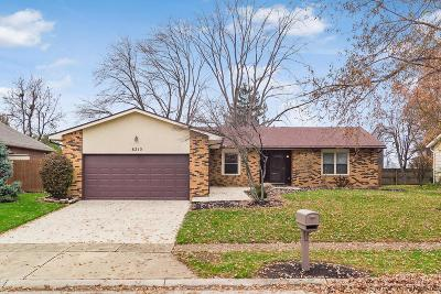Grove City Single Family Home Contingent Finance And Inspect: 6215 Hickory Lawn Court