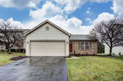 Reynoldsburg Single Family Home Contingent Finance And Inspect: 7248 Stonefall Court