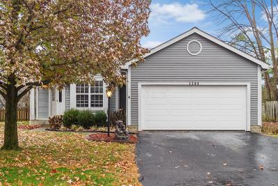 Hilliard Single Family Home For Sale: 3266 Reed Point Drive