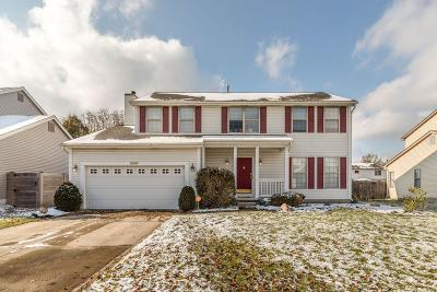 Pickerington Single Family Home Contingent Finance And Inspect: 3567 Farmstead Drive